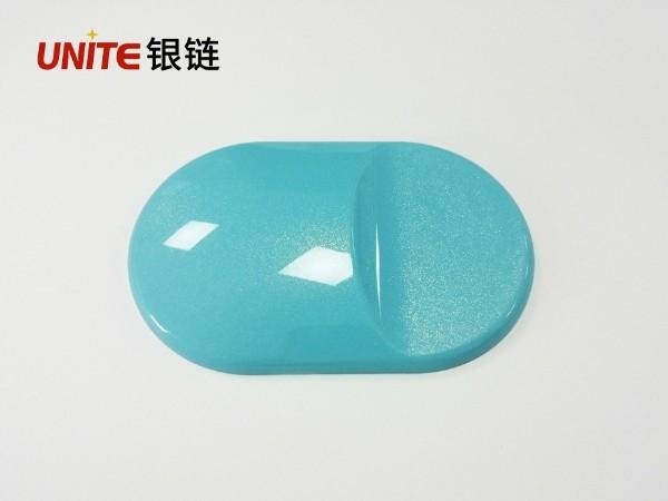 银链天蓝色ABS免喷涂塑胶材料
