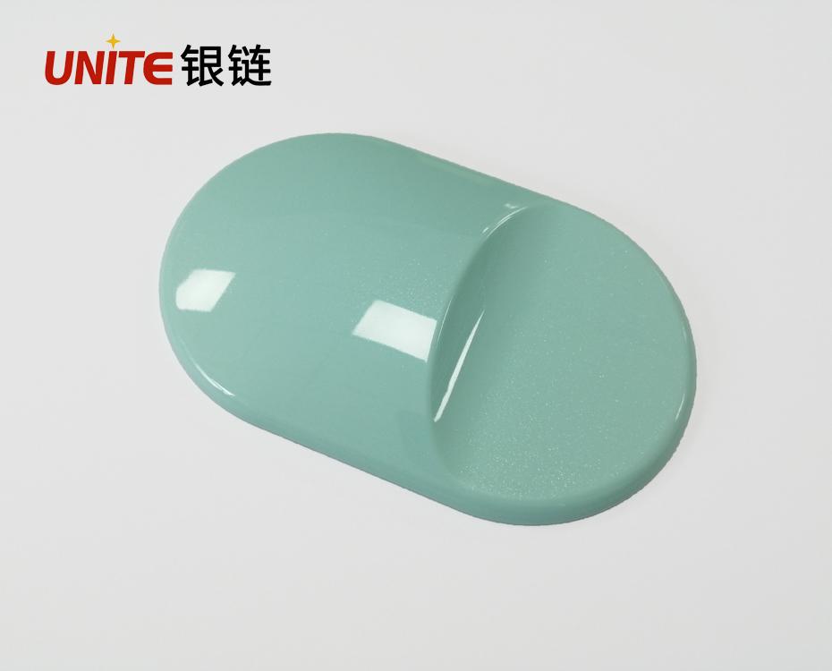蓝色免喷涂塑料