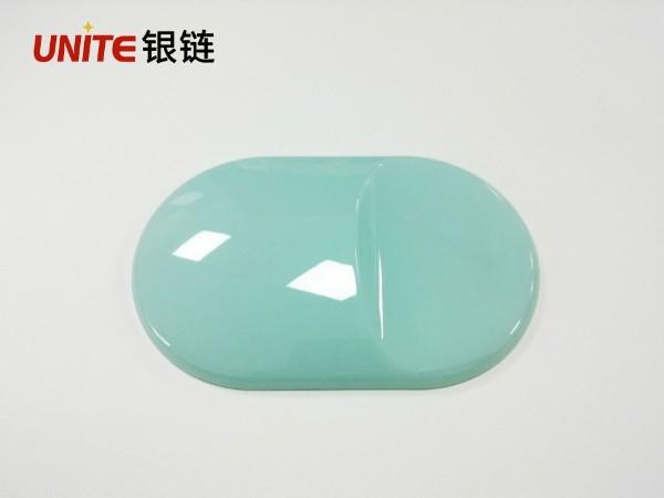银链马卡龙蓝色PC免喷涂塑胶材料