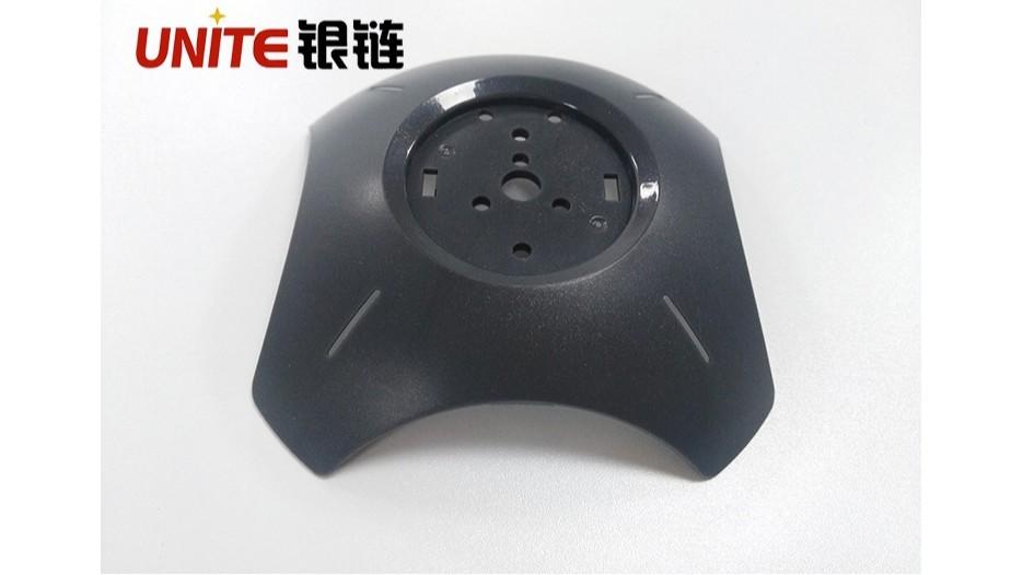 铁灰色ABS免喷涂塑料在灯柱支架底座的应用案例