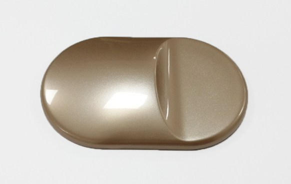 金银质感免喷涂塑料