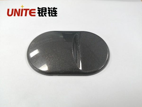 银链经典灰色ABS免喷涂材料美学塑料