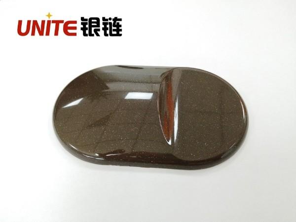 银链可可棕色改性PP免喷涂材料美学塑料