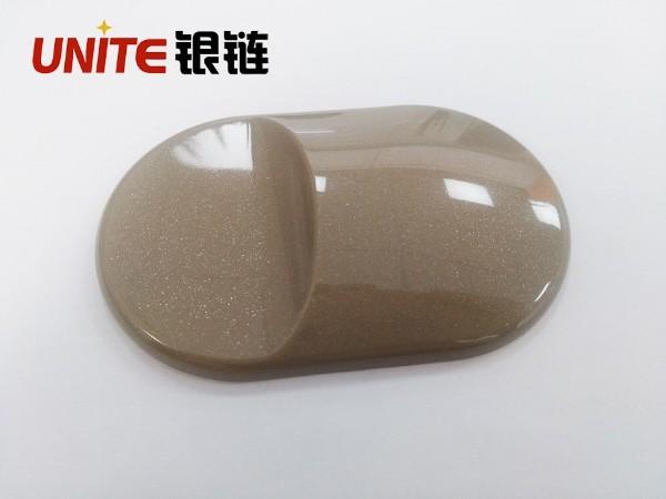 银链石头灰色改性PP免喷涂材料美学塑料