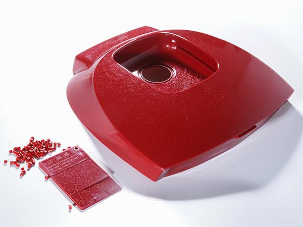 红色电饭煲盖结构件