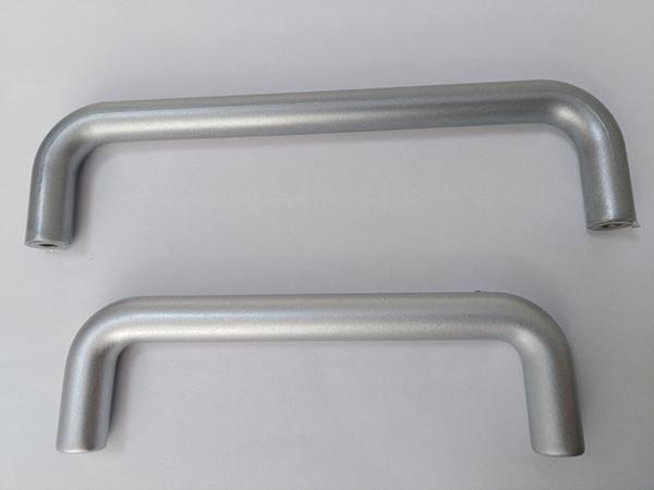 金属质感门把手结构件