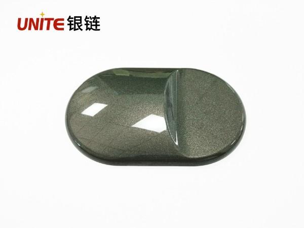 银链钛金灰色ABS免喷涂塑胶材料