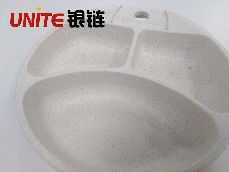 麦秆白色免喷涂塑料在儿童餐盘上的应用案例