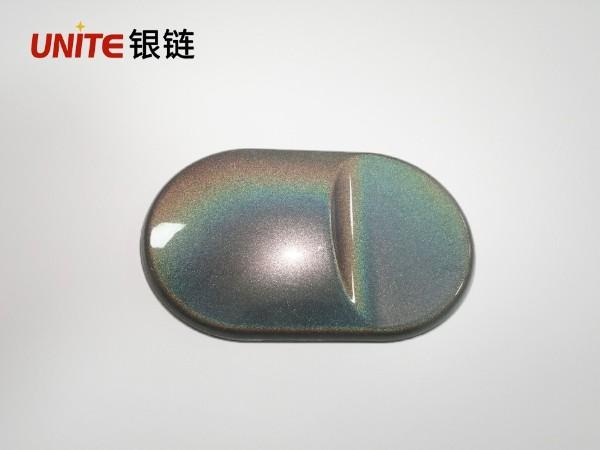 银链七彩镭射银色ABS免喷涂塑胶材料