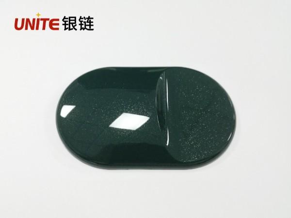 银链莫兰迪复古绿色改性PP免喷涂塑料